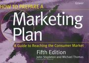 How to prepare a marketing plan by John Stapleton