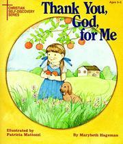 Thank you, God, for me PDF