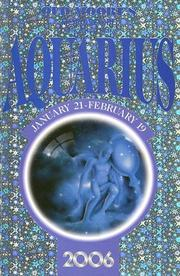Old Moore's Horoscope and Astral Diary 2006 by Francis Moore