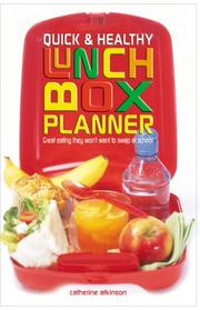 Quick & Healthy Lunchbox Planner PDF