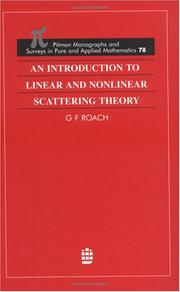 An Introduction to Linear and Nonlinear Scattering Theory (Pitman Monographs and Surveys in Pure and Applied Mathematics, to Be Assigned) PDF
