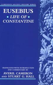 Life of Constantine by Eusebius of Caesarea, Bishop of Caesarea