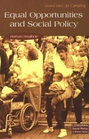 Equal opportunities and social policy PDF
