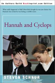 Hannah and Cyclops by Steven Schnur