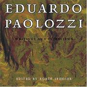 Eduardo Paolozzi by Eduardo Paolozzi