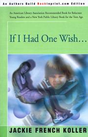 If I Had One Wish.. PDF