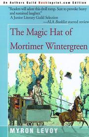 The magic hat of Mortimer Wintergreen PDF