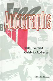 Free Autographs by Mail PDF