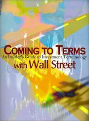 Coming to Terms With Wall Street PDF
