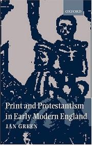 Print and Protestantism in early modern England PDF