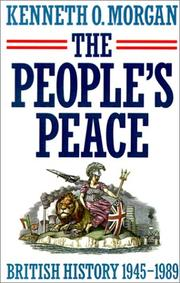 The people's peace by Kenneth O. Morgan