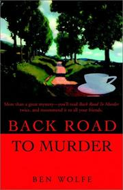 Back Road to Murder PDF
