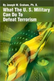 What the U. S. Military Can Do to Defeat Terrorism PDF