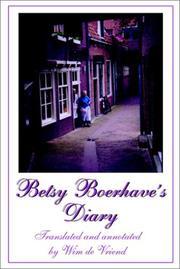Betsy Boerhave's Diary PDF