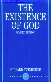 The existence of God by Richard Swinburne