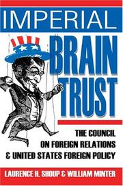 Cover of: Imperial Brain Trust by Laurence H. Shoup, William Minter