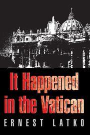 It Happened in the Vatican PDF