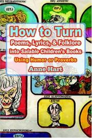 How to Turn Poems, Lyrics, & Folklore into Salable Children's Books PDF