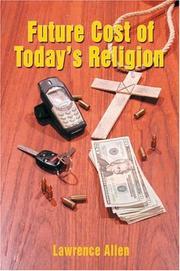 Future Cost of Today's Religion PDF