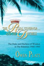 The Royal Governor.....and the Duchess PDF