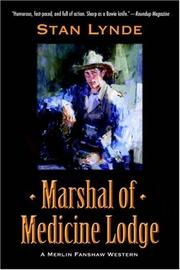 Marshal of Medicine Lodge by Stan Lynde