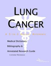 Lung Cancer - A Medical Dictionary, Bibliography, and Annotated Research Guide to Internet References PDF