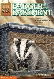 Cover of: Badger in the Basement (Animal Ark Series #6) by Ben M. Baglio