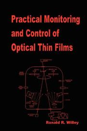 Practical Monitoring and Control of Optical Thin Films PDF