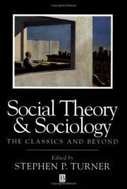 Social Theory and Sociology PDF