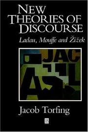 New theories of discourse by Jacob Torfing