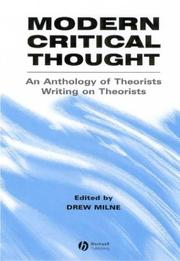 Modern Critical Thought PDF