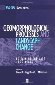 Geomorphological Processes and Landscape Change