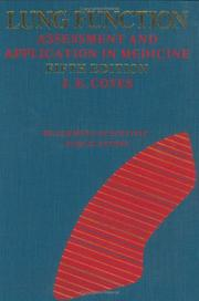 Lung function by J. E. Cotes