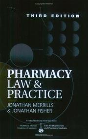 Pharmacy law and practice by Jonathan Merrills