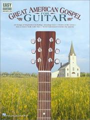 Great American Gospel for Guitar (Easy Guitar with Notes & Tab) PDF