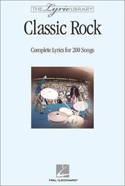 The Lyric Library: Classic Rock PDF