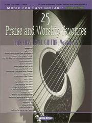 25 Praise and Worship Favorites for Easy Guitar - Volume 2 PDF