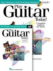 Play Guitar Today! Beginner's Pack PDF