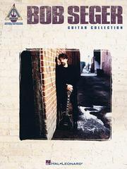 Bob Seger Guitar Collection PDF