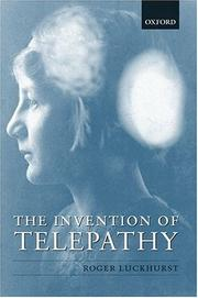The invention of telepathy, 1870-1901 PDF
