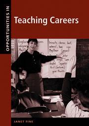 Opportunities in teaching careers PDF
