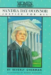 Sandra Day O'Connor by Beverly Gherman