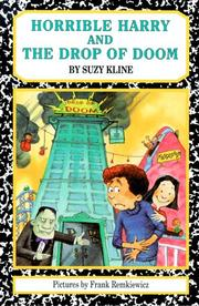 Horrible Harry and the Drop of Doom by Suzy Kline