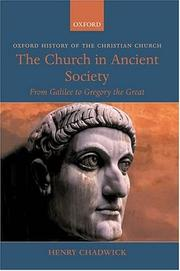 The Church in Ancient Society PDF