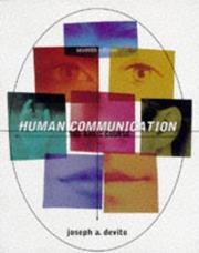 Human communication by Joseph A. DeVito