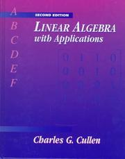 Linear algebra with applications PDF