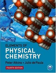 Elements of physical chemistry.