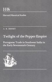 Twilight of the pepper empire by Anthony R. Disney
