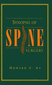 Synopsis of spine surgery PDF
