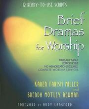 Brief dramas for worship PDF